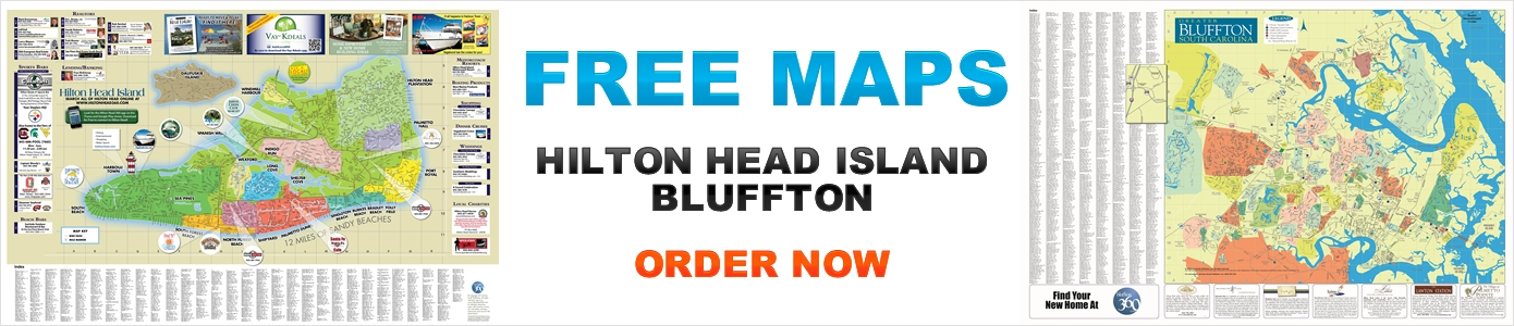 Free Hilton Head and Bluffton Maps