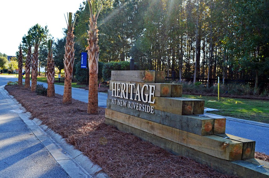 Heritage at New Riverside real estate